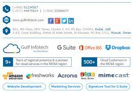 Gulf Infotech - Signature